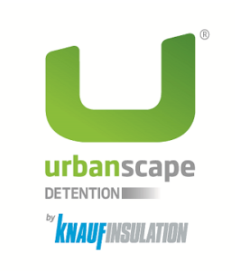 Urbanscape Detention logo by Knauf Insulation