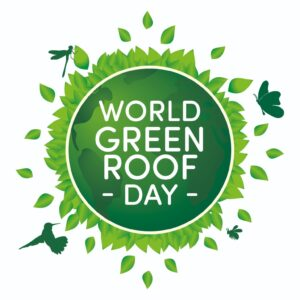 world green roof day logo